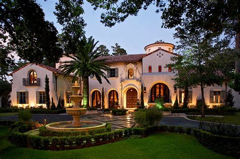 .95 Million Gated Mediterranean Mansion In Houston, Tx