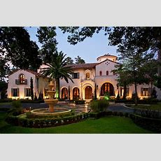 $795 Million Gated Mediterranean Mansion In Houston, Tx