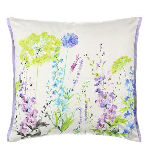 Designers Guild Kissen by Fleur Sauvage Delphinium Cushion Designers Guild