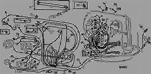 Front Wiring Harness - Combine John Deere 6600