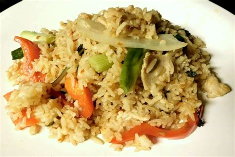 photo spicy chicken fried rice from patou belmont