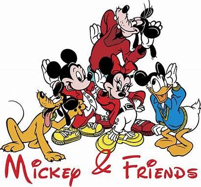 Disney Mickey Logos Mouse Friends Vector Sponsored