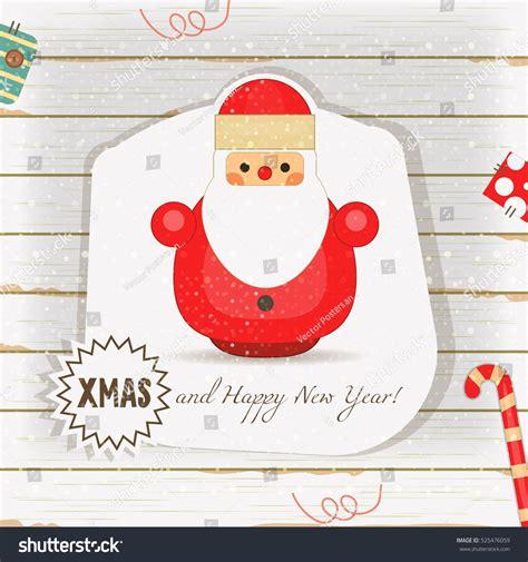 Santa Claus Card By Benchart Vectors Eps Card Santa Claus On White Stock Vector 525476059