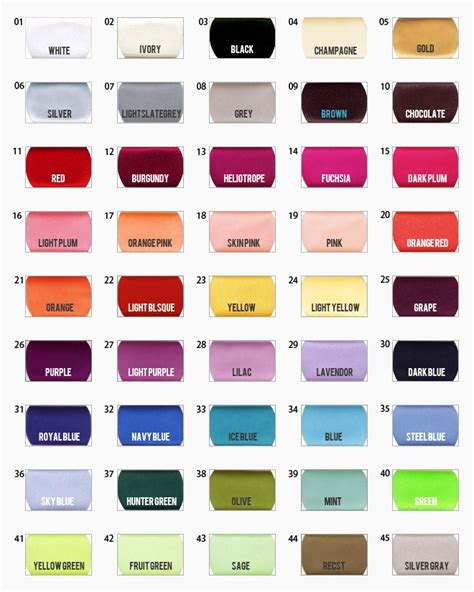 sissons paint color chart