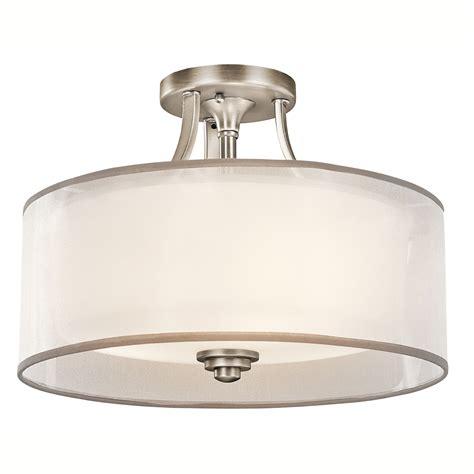 kichler 42386ap semi flush ceiling fixture