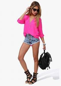 Hot Pink Blouses on Pinterest