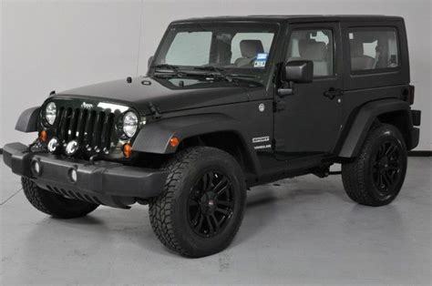 jeep black 2 door black jeep wrangler 2 door