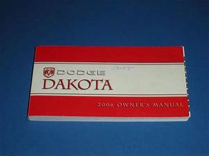 2006 Dodge Dakota Owners Manual Book Guide