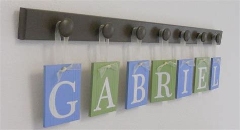 Gabriel Personalized First Name Letter Sign Includes 7