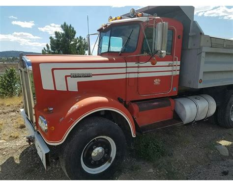 heavy duty kenworth trucks for 1970 kenworth w900 heavy duty dump truck for sale