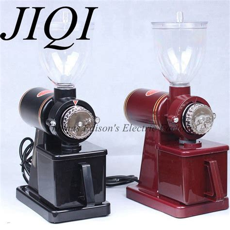 Through the power of art, love & science, we thank ella. Ella Blogs: JIQI Easy using Electric coffee grinder machine coffee mill plug adapter kitchen machine
