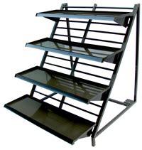composition d un escalier pr 233 sentoirs casaflor en escalier pratiques et design pour une pr 233 sentation percutante de vos