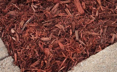 cedar vs hardwood mulch colored mulch bark mulch cedar mulch hemlock mulch