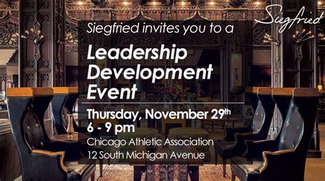 personal leadership development program chicago