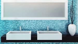 Carrelages Salle De Bain : comment poser un carrelage au mur d une salle de bains ~ Melissatoandfro.com Idées de Décoration