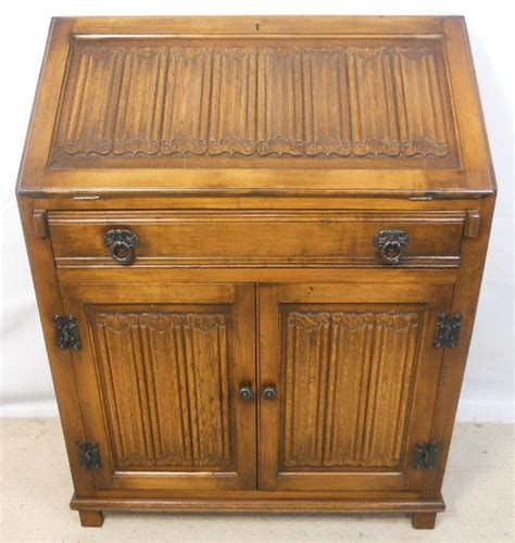 oak writing bureau furniture light oak writing bureau desk by charm sold