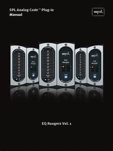 Eq Rangers Vol 1 Manual