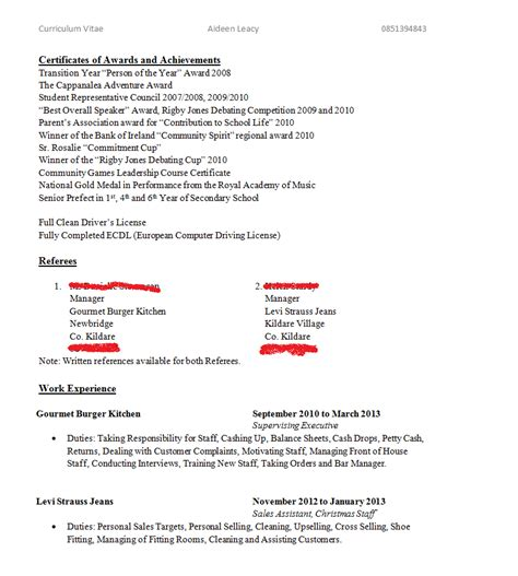 how to write a curriculum vitae aideenleacy