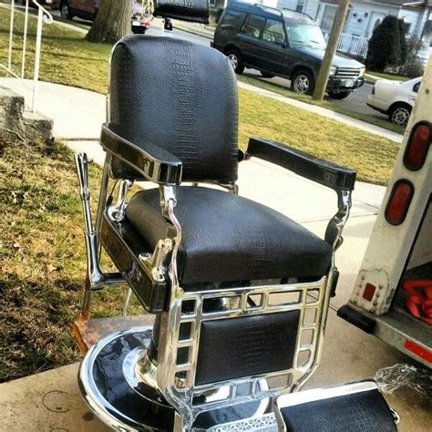 pin by custom barber chair restoration on antique barber chairs pin