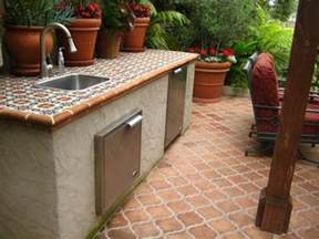 Granada Kitchen by Selecting Outdoor Tile Landscaping Network