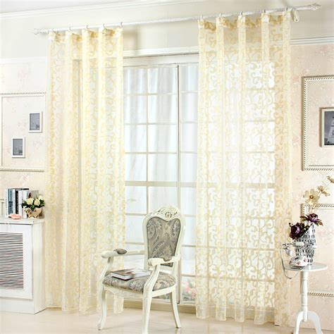 Gold And White Sheer Curtains by Popular Gold Sheer Curtains Buy Cheap Gold Sheer Curtains