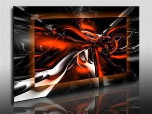 Schwarz Weiß Wandbilder : abstrakt 3d leinwandbild kunstdrucke leinwandbilder wandbilder deko poster ebay ~ Watch28wear.com Haus und Dekorationen