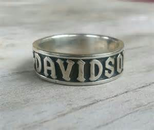 biker wedding rings harley davidson ring biker wedding band by youareoutthere on etsy