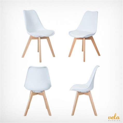 sillas de cocina baratas  altas blancas de