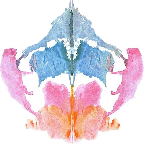 revisiting  rorschach ink blots  iconography