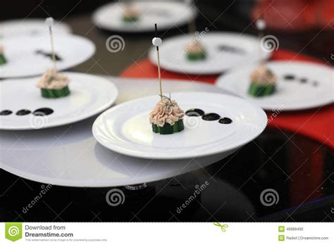 pate canapes pate canape stock photo image 46689490
