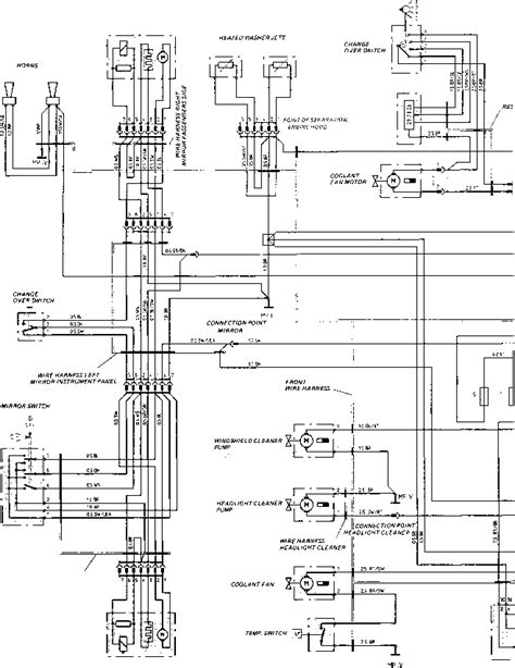 Porsche 944 Wiper Motor Wiring Diagram by Wiring Diagram Type 924 S Model 87 Sheet Porsche 944