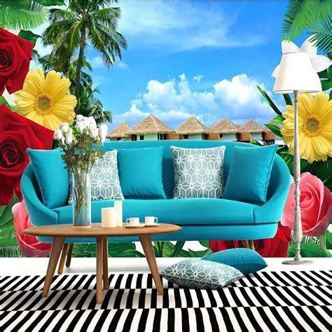 Youman 3d Home Decor Custom Wallpaper Floral Wallpaper
