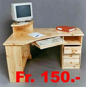 Schreibtisch Kiefer Massiv : schreibtisch kiefer massiv fr 150 ~ Lateststills.com Haus und Dekorationen