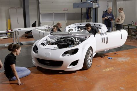 Build A Car by Mazda Mx 5 Superlight Building The Show Car Autoevolution