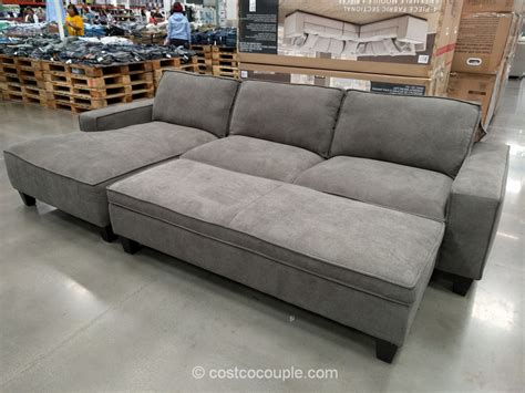 recliner with ottoman costco sectional sofa with chaise costco fabric sofas sectionals