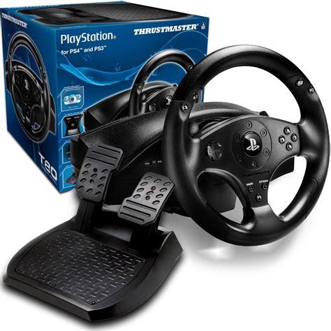 Volante Playstation 4 by Volante Gamer Para Playstation 4 E Ps3 T80 Racing Wheel