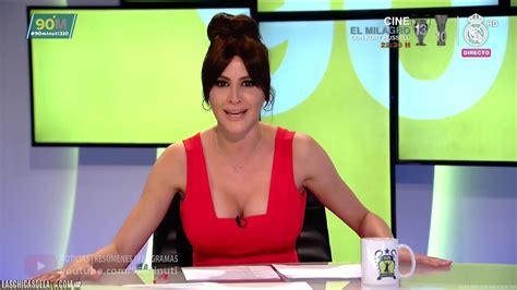 Graciela Álvarez super escotada en 90 minuti LASCHICASDELATV