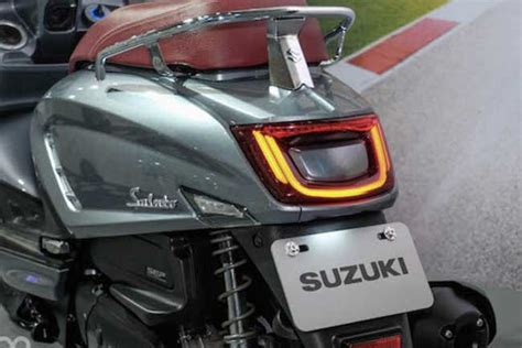 suzuki resmi rilis skuter  desainnya mirip vespa