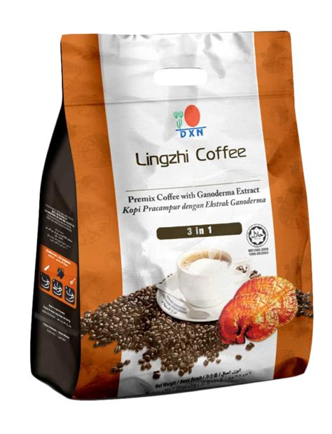 Just add one sachet of the lingzhi coffee 3 in 1 lite into 150ml of hot water and stir to enjoy a sensational new coffee experience with dxn. LINGZHI COFFEE 3 EN 1 - Gano Salud DXN