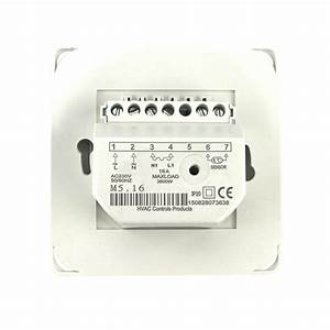 220v Ac 16a Manual Underfloor Heating Electric Thermostat