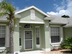 Exterior Paint Colors For Florida Homes by Stucco Repair I Did Last Week In Cocoa FL On An Exterior Repaint