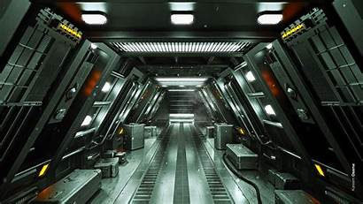 Sci Fi Tunnel Station Widescreen Wallpapers Wallpaperscraft