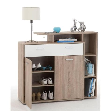 Commode A Chaussure by Meuble 224 Chaussures Commode Bozen Ch 234 Ne Blanc Achat