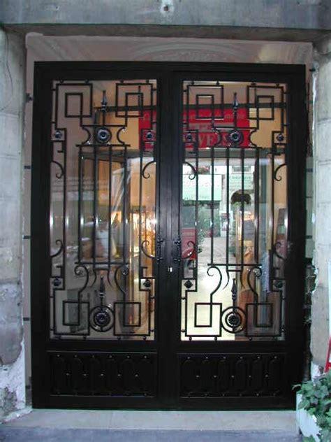 decoration des portes en fer porte en fer forg 233 sardaigne photo porte en fer forg 233 style classique le grand catalogue