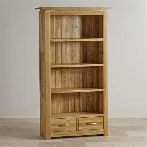 Tokyo Natural Solid Oak Bookcase  Living Room Furniture