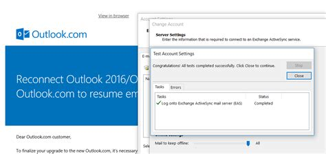 reconnect outlook   outlookcom  upgrade