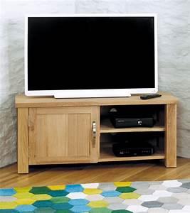 Aston Oak Corner Television Cabinet Wooden Furniture Store