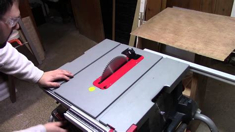 cutting hdpe plastic plate table saw youtube