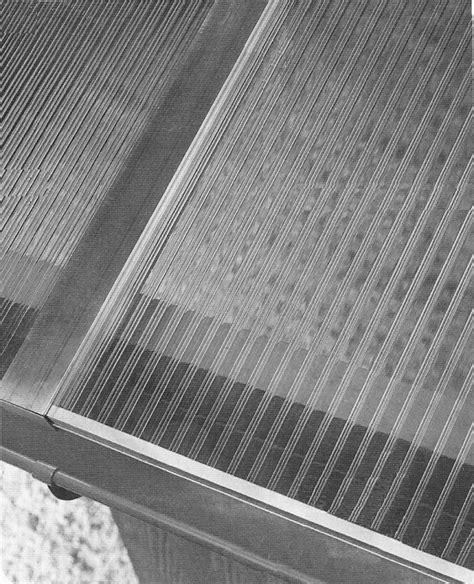 coperture in plastica per tettoie usare lastre di policarbonato alveolare per coperture o