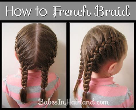 french braid video  monkey hair styles